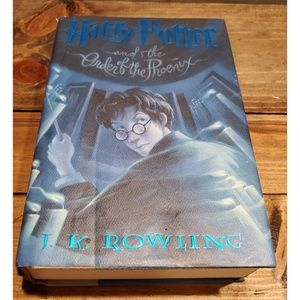 Harry Potter and the Order of the Phoenix Jk Rowli